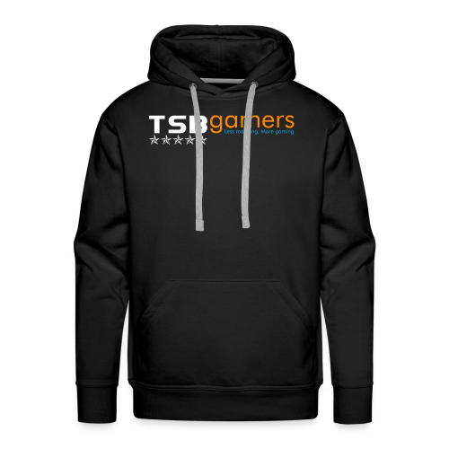 TSB White Website Logo FullColor - Men's Premium Hoodie