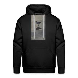 Sea Gull on Beach - Men's Premium Hoodie