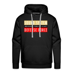 UPA Sound System Defense Force - Men's Premium Hoodie