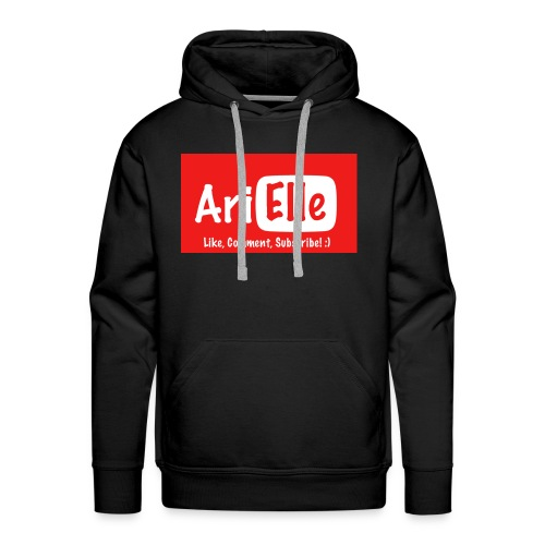 ARIELLE THE YOUTUBER Collection - Men's Premium Hoodie