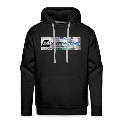 Challenger Matches...Challenge. Play. Win - Men's Premium Hoodie