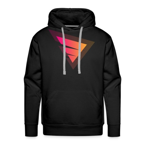 Logo IteX with another background logo - Men's Premium Hoodie
