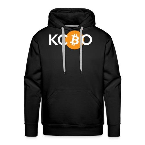 kcbo logo dark - Men's Premium Hoodie