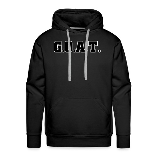 THE G.O.A.T - Men's Premium Hoodie