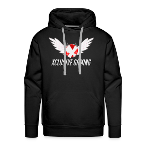 Xclusive gaming oversized logo - Men's Premium Hoodie