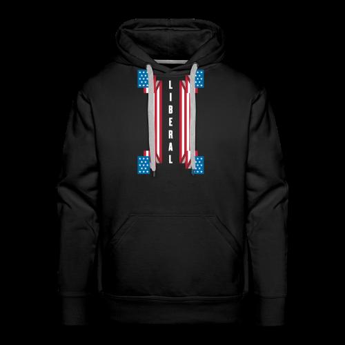American Banner of Liberals - 002GS-01 - Men's Premium Hoodie