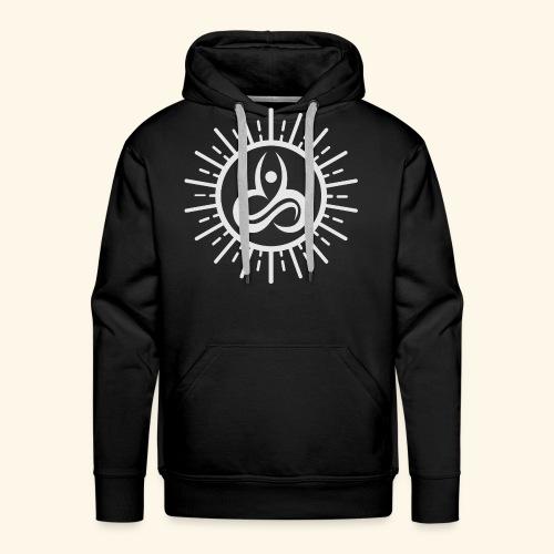 Yoga T-Shirts - Yoga Mind Body Soul - Men's Premium Hoodie
