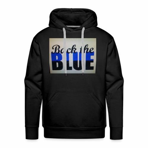 Back the Blue - Men's Premium Hoodie