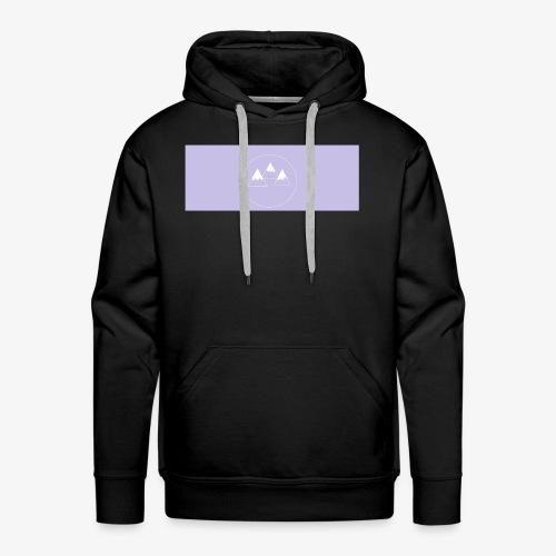 mountians shirt design - Men's Premium Hoodie