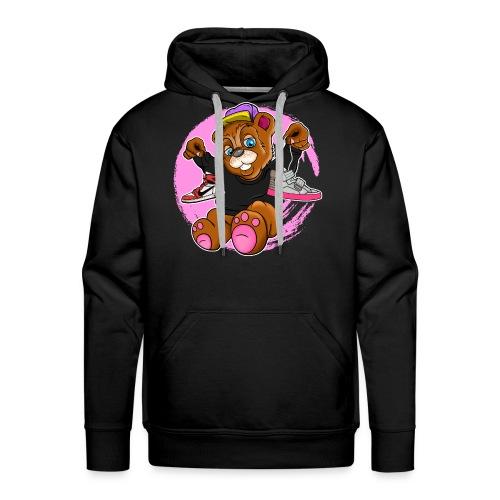 Fashion Bear Sneakerhead - Men's Premium Hoodie