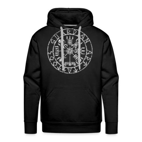 Guardian Art Tattoos Vegvisir Logo - Men's Premium Hoodie