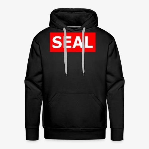 Seal Box Logo - Men's Premium Hoodie