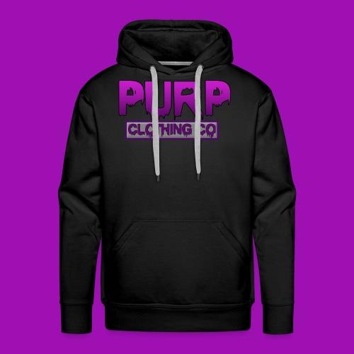 Purp Clothing Logo - Men's Premium Hoodie