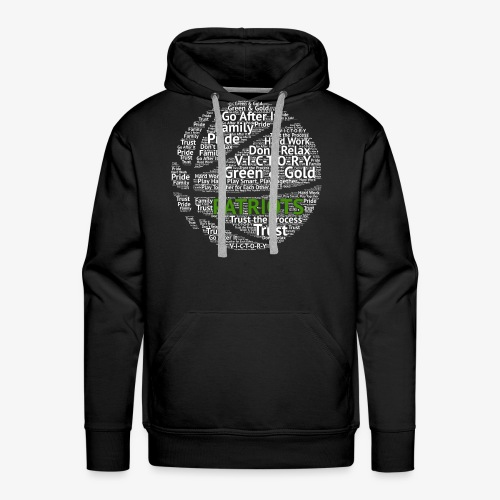 Pats Basketball White - Men's Premium Hoodie