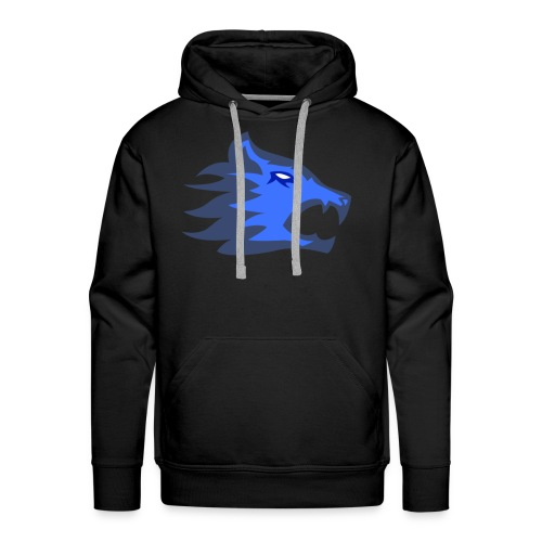 The Exodium Wolf [BLUE] - Men's Premium Hoodie