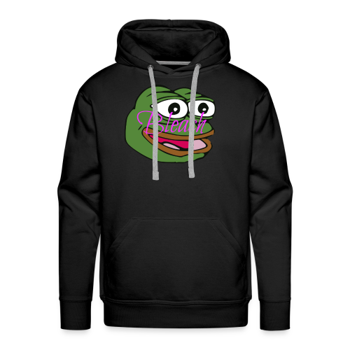 AnonymousBleach (Green Bleach Loving Frog) Shirts - Men's Premium Hoodie