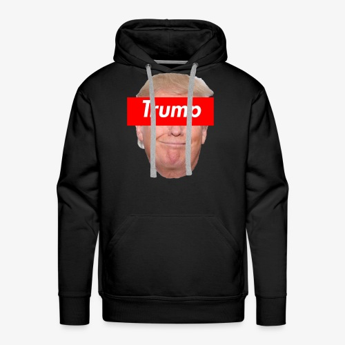 Trump Box Logo - Men's Premium Hoodie