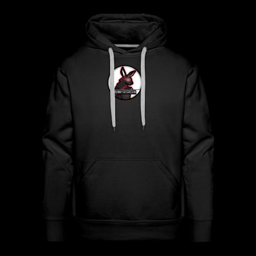 Bunny Assassin Logo - Men's Premium Hoodie