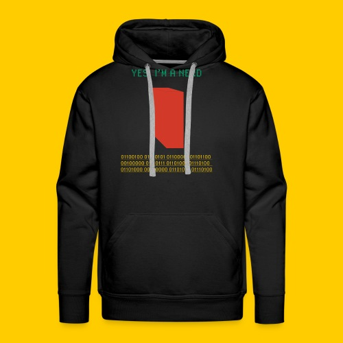 Yes, I'm a nerd deal with it - Men's Premium Hoodie
