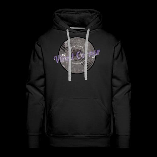The Vinyl Corner - Deep purple - Men's Premium Hoodie