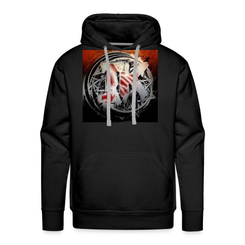 Insane Killa Logo Design - Men's Premium Hoodie