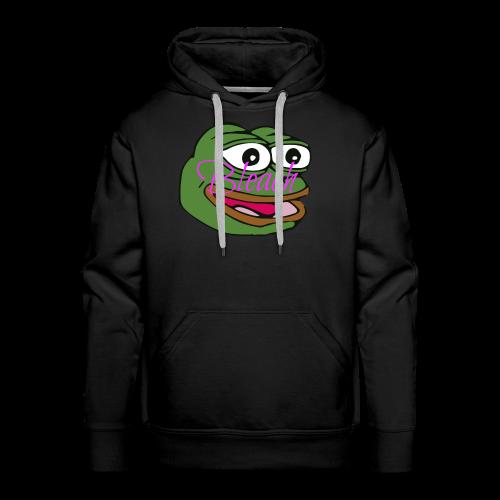 AnonymousBleach (Green Bleach Loving Frog) Shirts - Men's Premium Hoodie