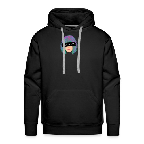 Introvert Graphic Tee - Men's Premium Hoodie