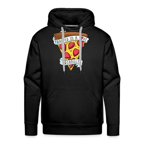 pizza valentine - Men's Premium Hoodie