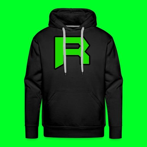 Retro ItsRusher Logo - Men's Premium Hoodie