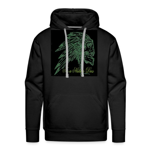 green indian - Men's Premium Hoodie