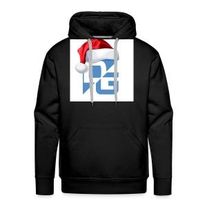 x mas dg logo - Men's Premium Hoodie