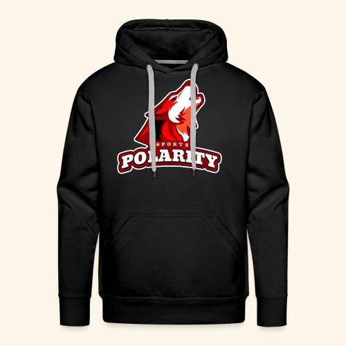 Red Polarity Logo - Men's Premium Hoodie
