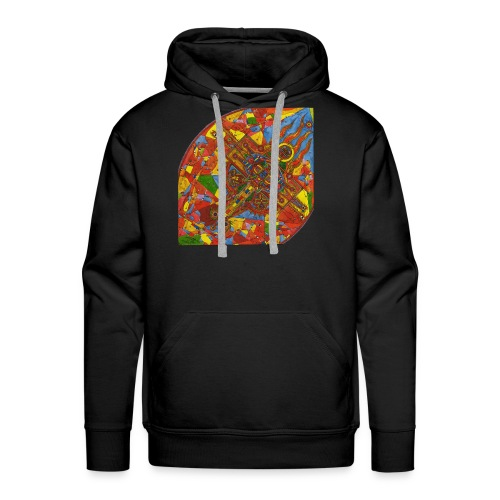 Adam the Cherub (AdmaEl Kirub) - Men's Premium Hoodie