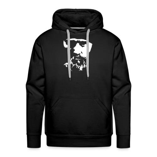 KuixoteWhiteLarge - Men's Premium Hoodie