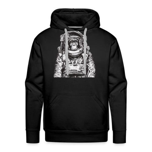 Monkey Astronaut - Men's Premium Hoodie
