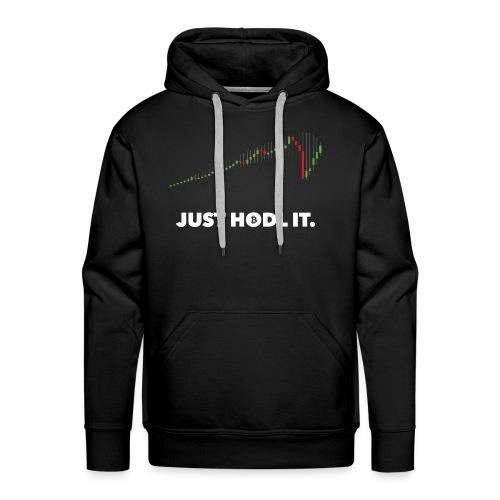 JUST HODL IT. - Men's Premium Hoodie