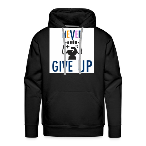 GAMING GUY: NeVeR GIVE UP - Men's Premium Hoodie