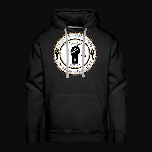 CONSCIOUS REBEL CLOTHING - Men's Premium Hoodie