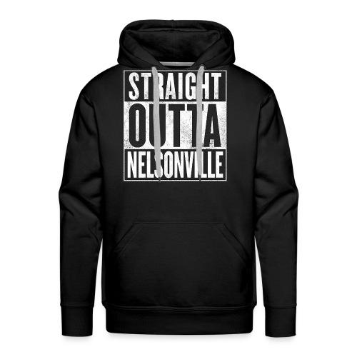 Straight Outta Nelsonville - Men's Premium Hoodie