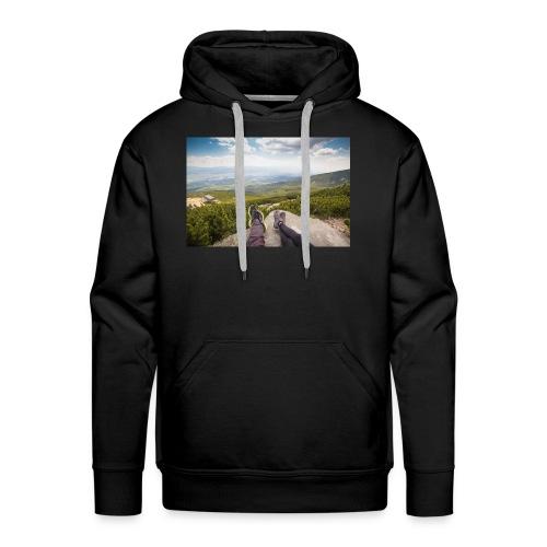Outdoorsy Life - Men's Premium Hoodie