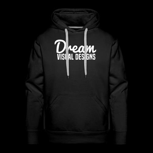 DreamVisualDesigns Logo (white) - Men's Premium Hoodie
