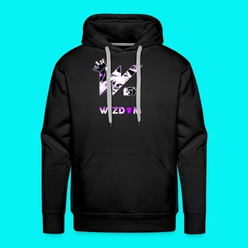 Wizdom 2.0 Logo - Men's Premium Hoodie