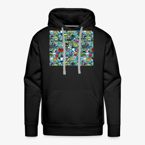 Wild Thoughts - Men's Premium Hoodie