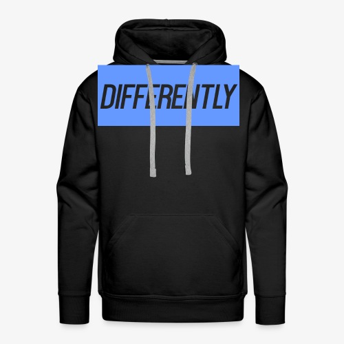 Differently Large Bogo - Men's Premium Hoodie