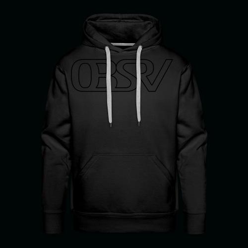 OBSRV Void - Men's Premium Hoodie