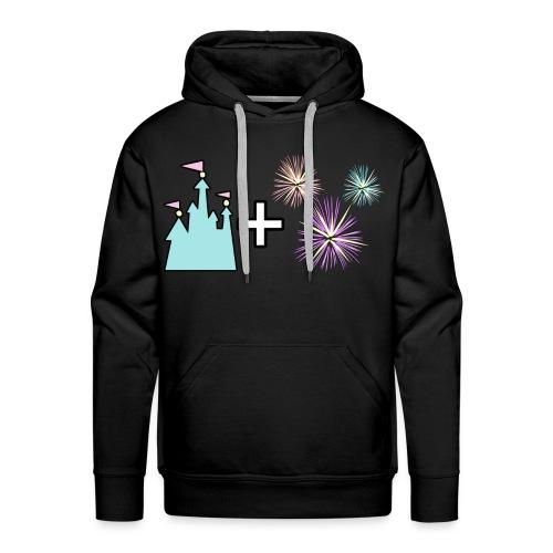 Castle & Fireworks - Men's Premium Hoodie