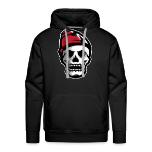 Custom Skull With Ice Cap Merch! - Men's Premium Hoodie
