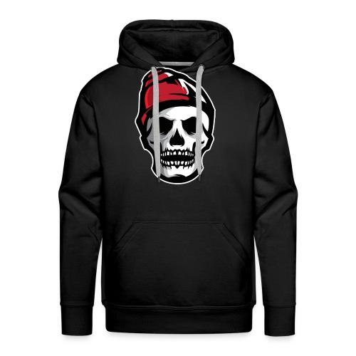 Custom Skull With Ice Cap Merch! - Men's Premium Hoodie