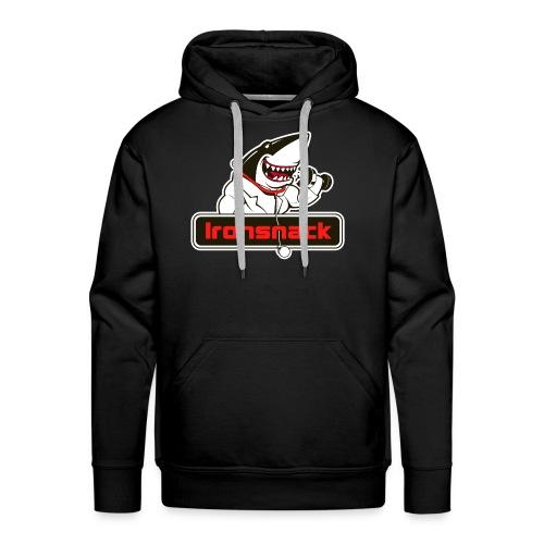Ironsnack Crest Logo - Men's Premium Hoodie