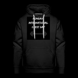 International chest day - Men's Premium Hoodie